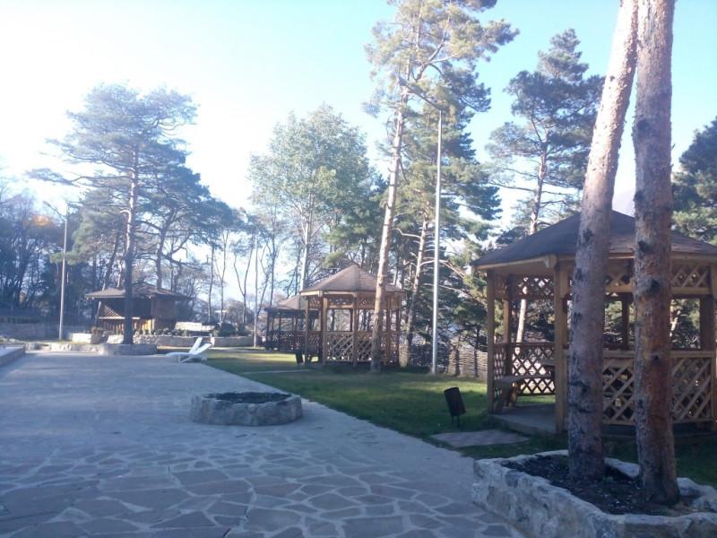 Курорт в горах Кавказа
