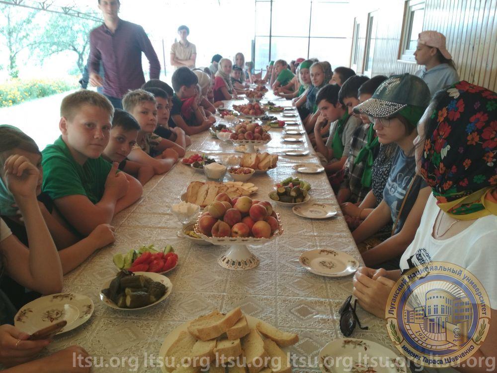 Прием детей из ЛНР в Ингушетии