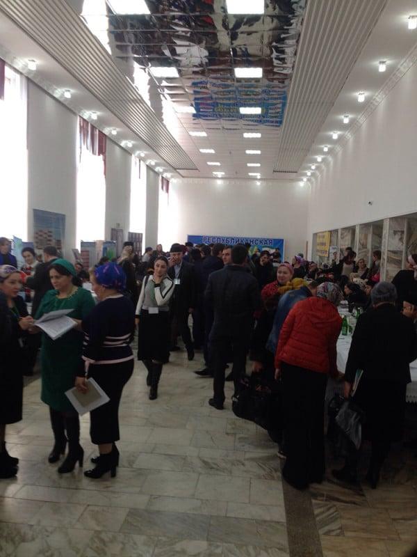 Ярмарка вакансий в Ингушетии 2015