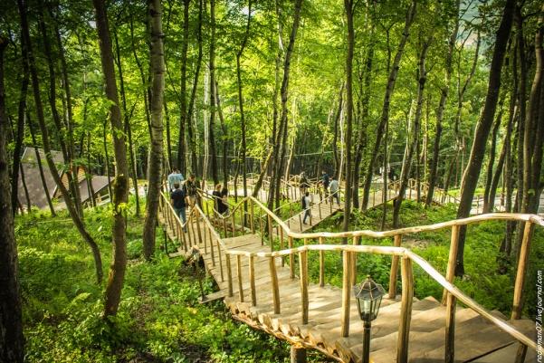 лестница здоровья в Ингушетии