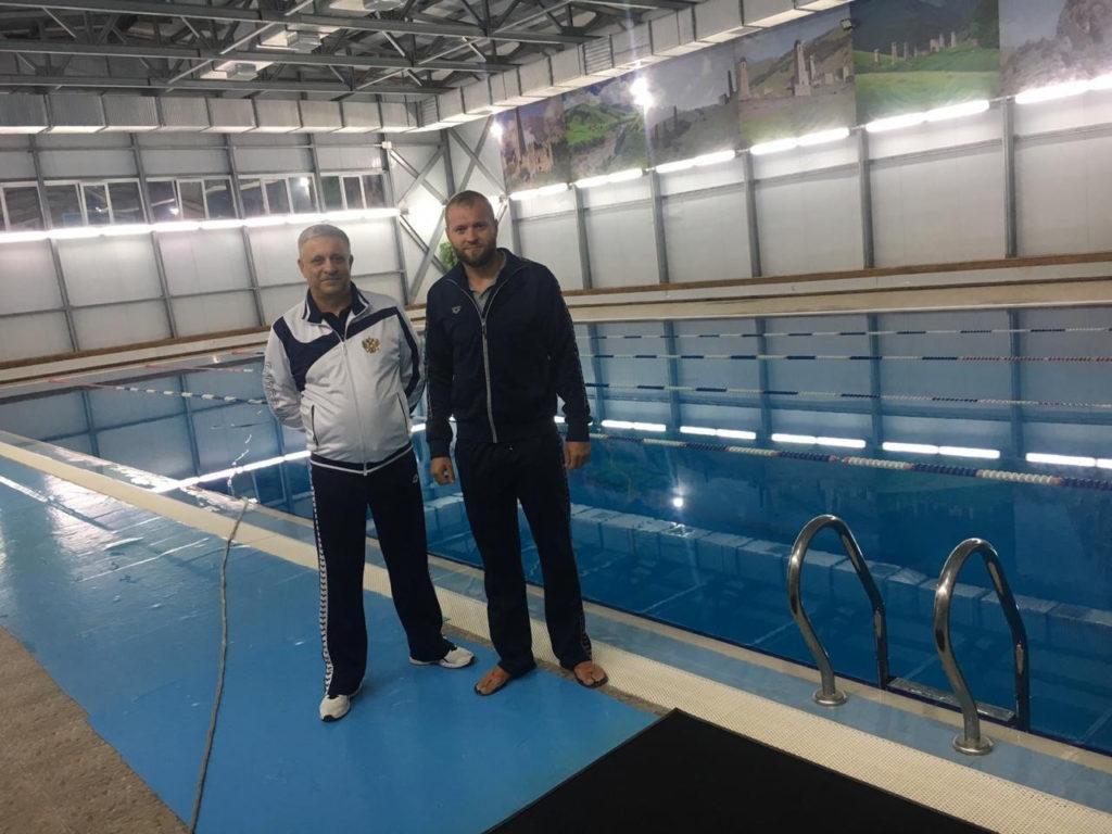 Анатолий Тимченко - тренер по плаванию