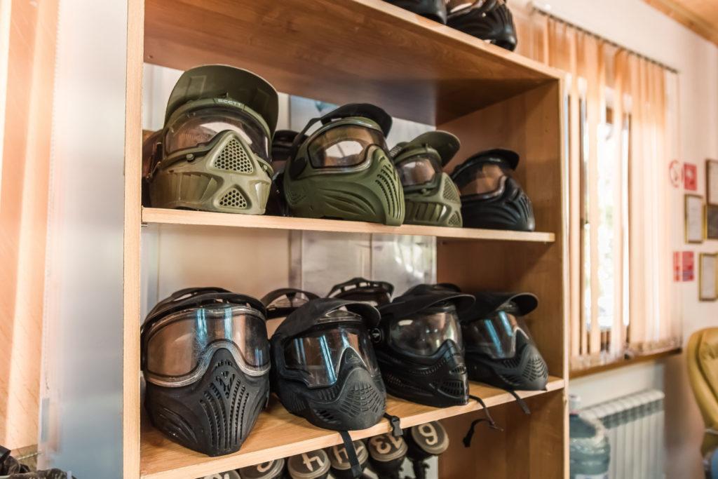 шлемы для пейнтбола