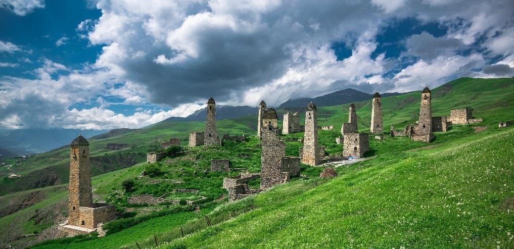 Памятники древней Ингушетии