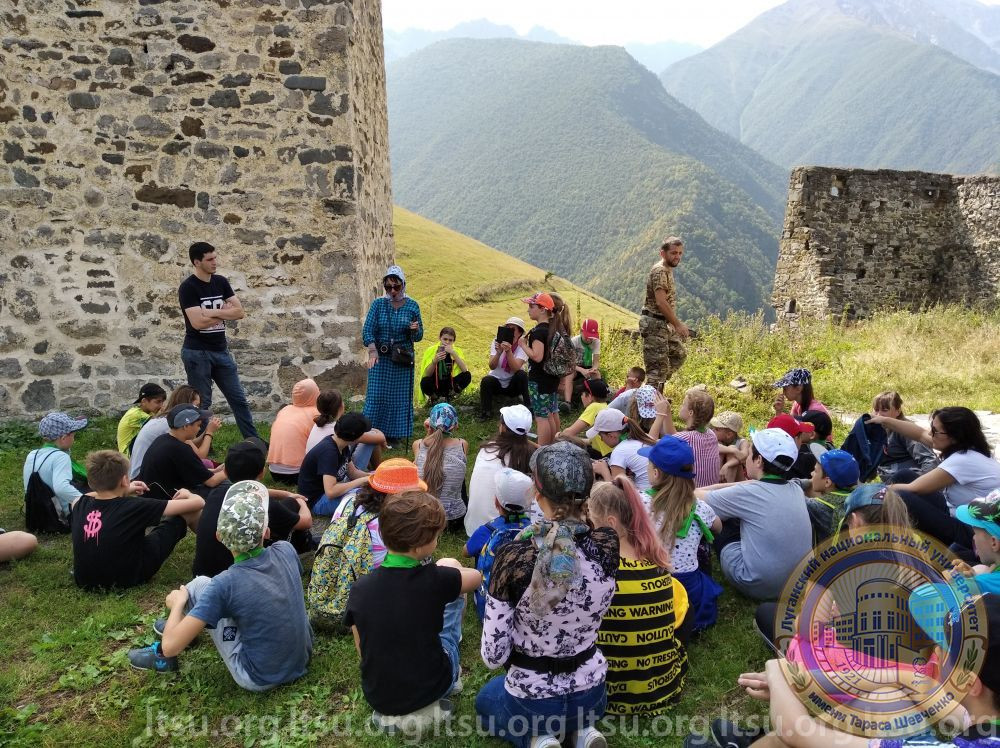 Дети из ЛНР отдохнули на курорте «Армхи»