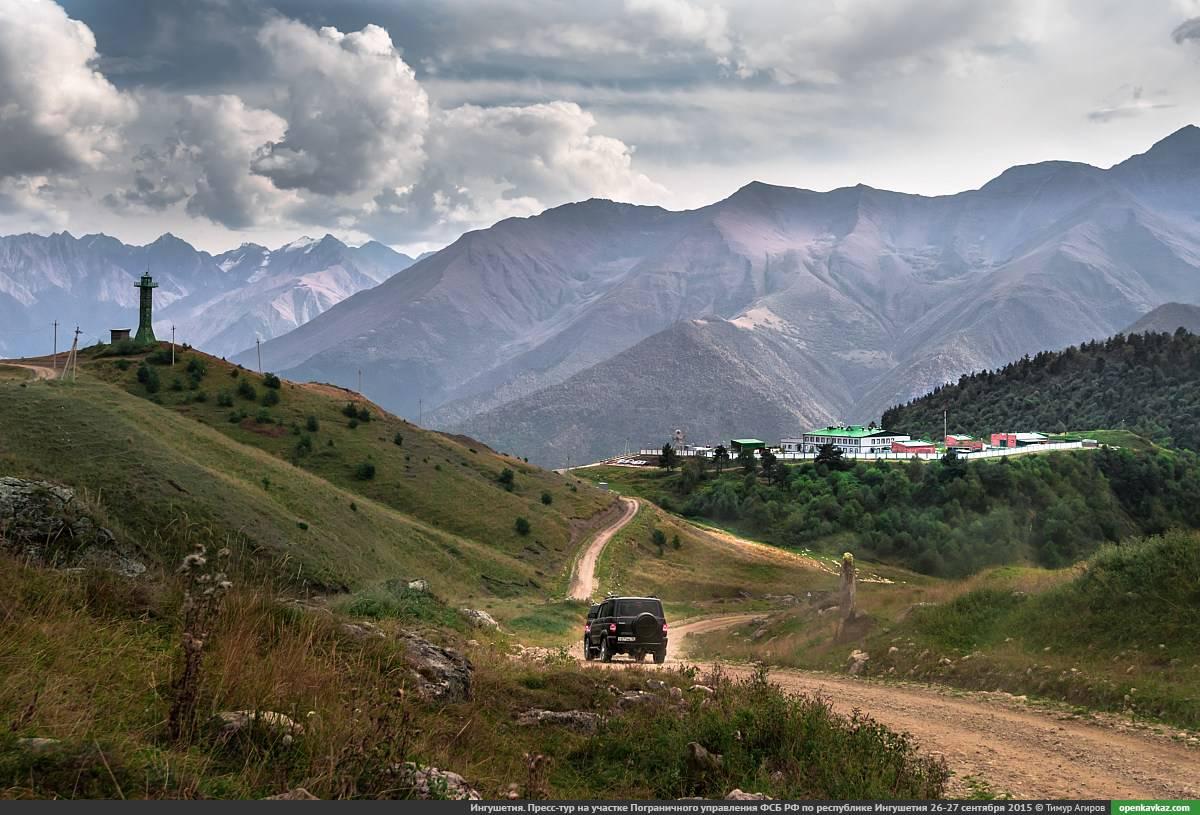 Горы Ингушетии