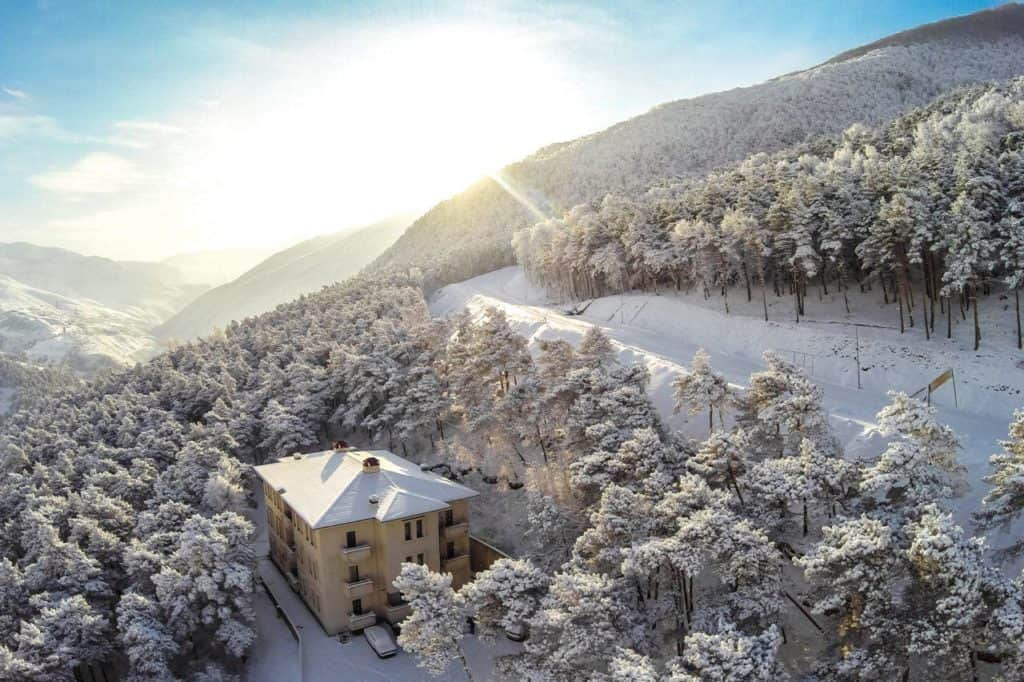 Зимний Армхи