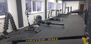 Тренировочный зал в горах