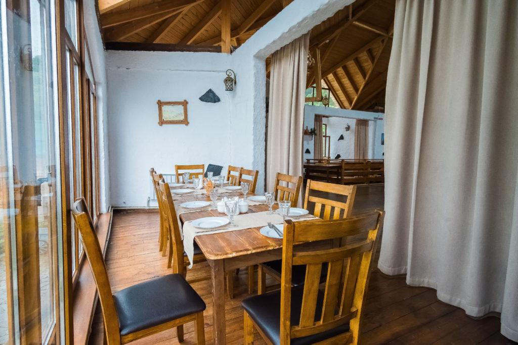 Ресторан в горах Ингушетии