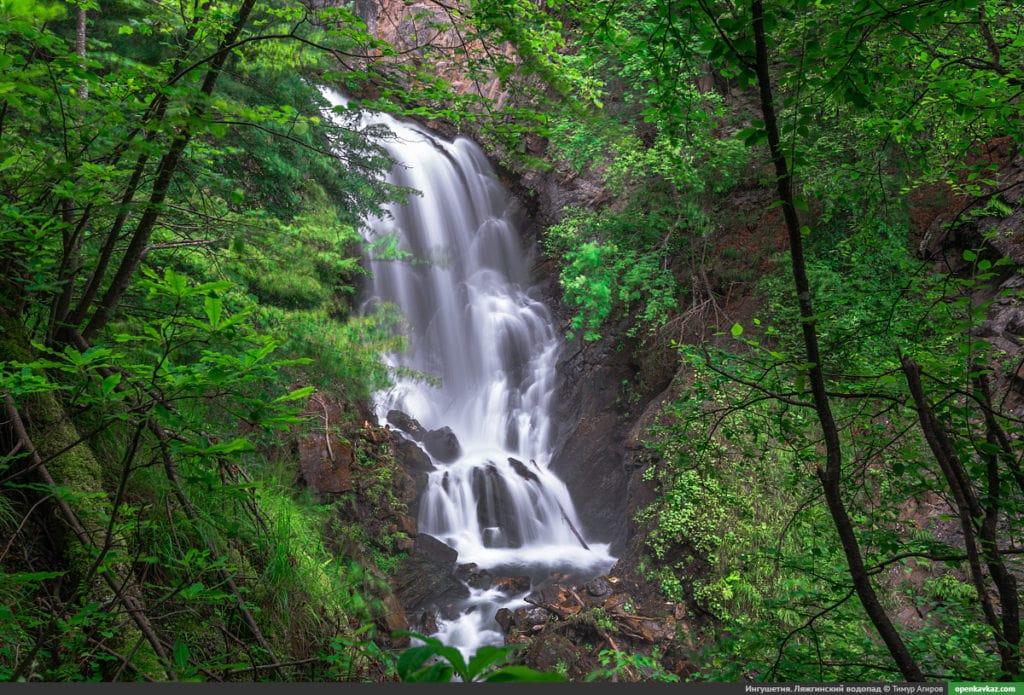 Ляжгинский водопад