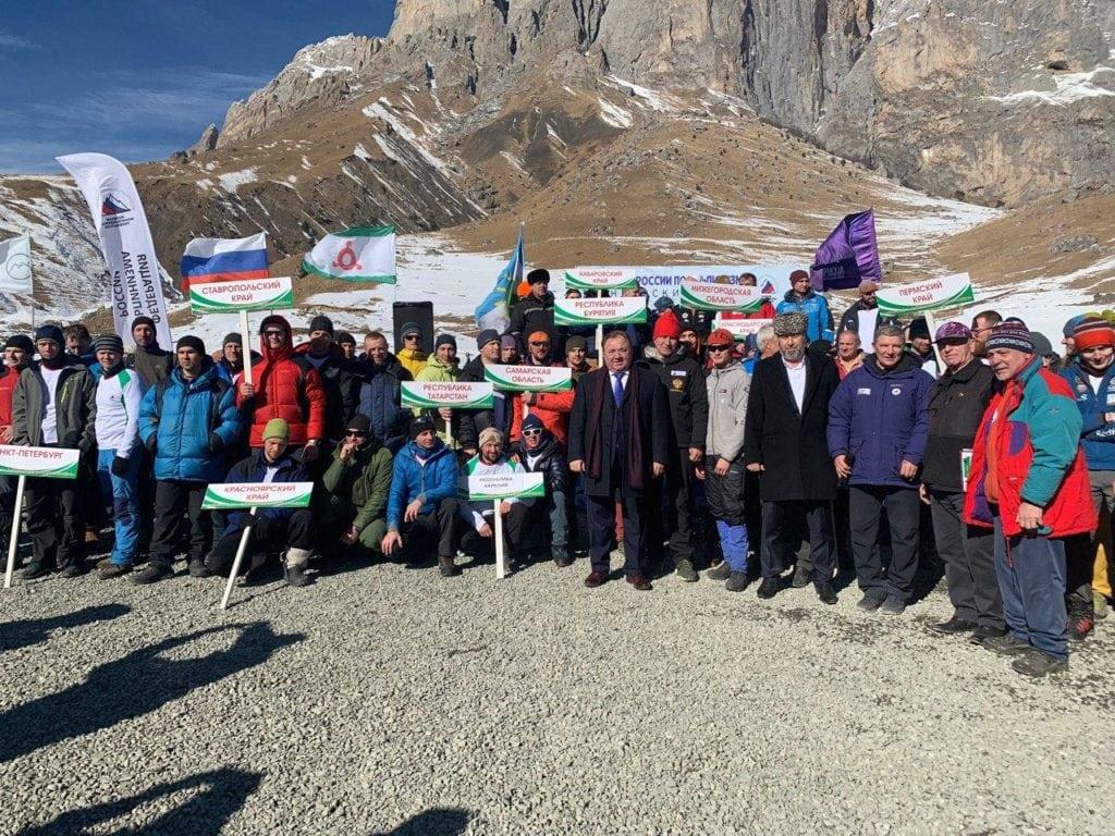 Чемпионат по Альпинизму, Ингушетия