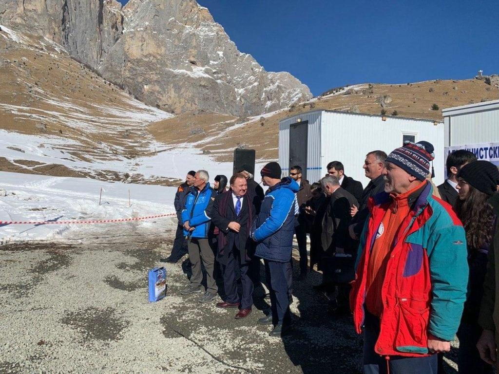 Президент Ингушетии в горах