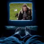 лежать и смотреть сериалы это пассивный отдых
