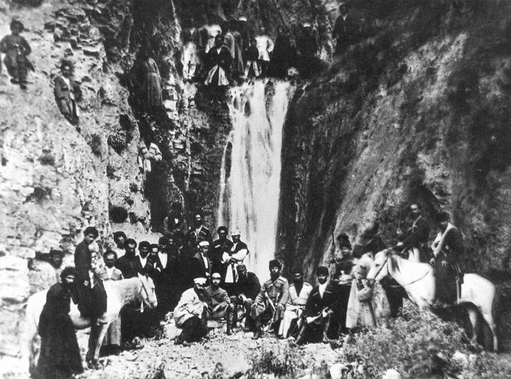 Менделеев в Фуртоуге в Ингушетии
