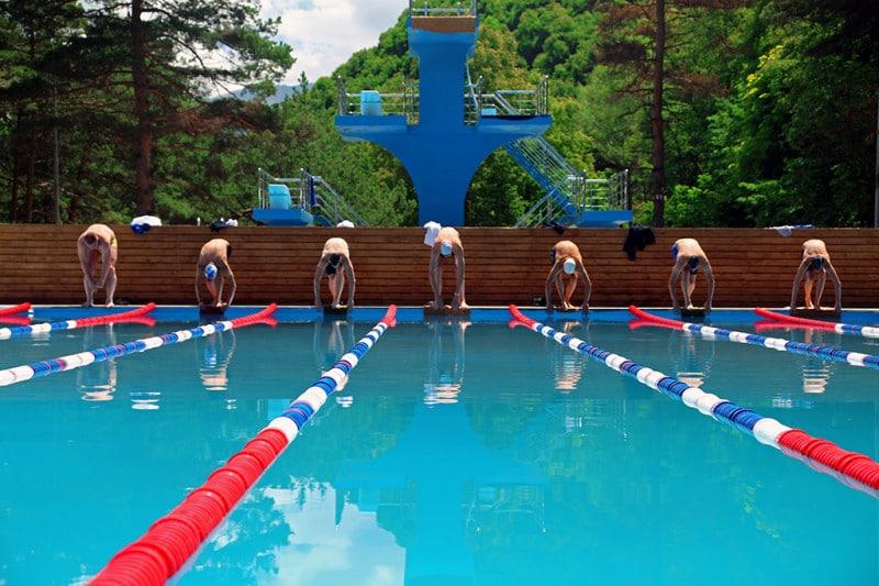 Олимпиада по плаванию в Армхи