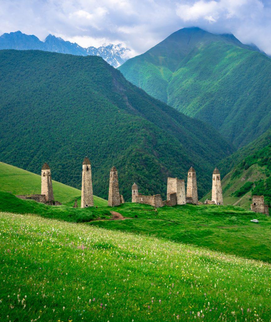 экскурсии по горной и равниной Ингушетии